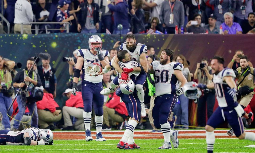 Seleção Ofensiva dos Patriots da Década 2010