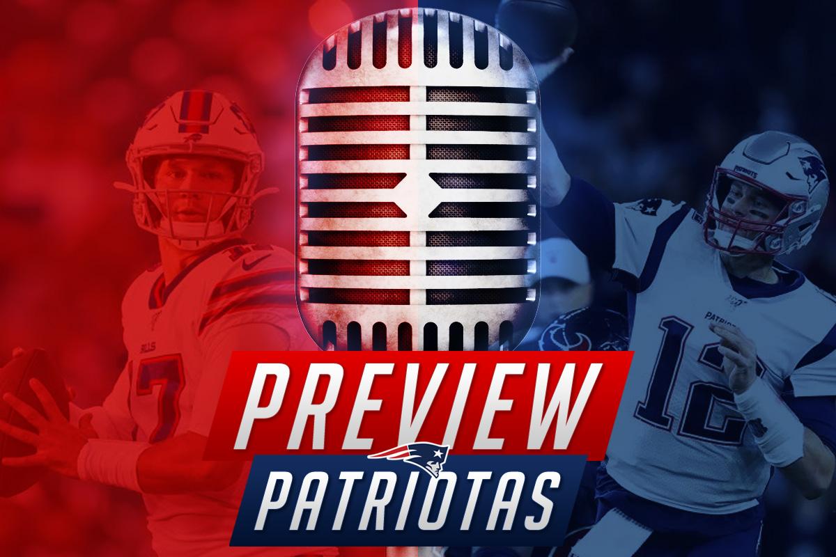 Preview Patriotas: Vai ser uma batalha contra os Bills