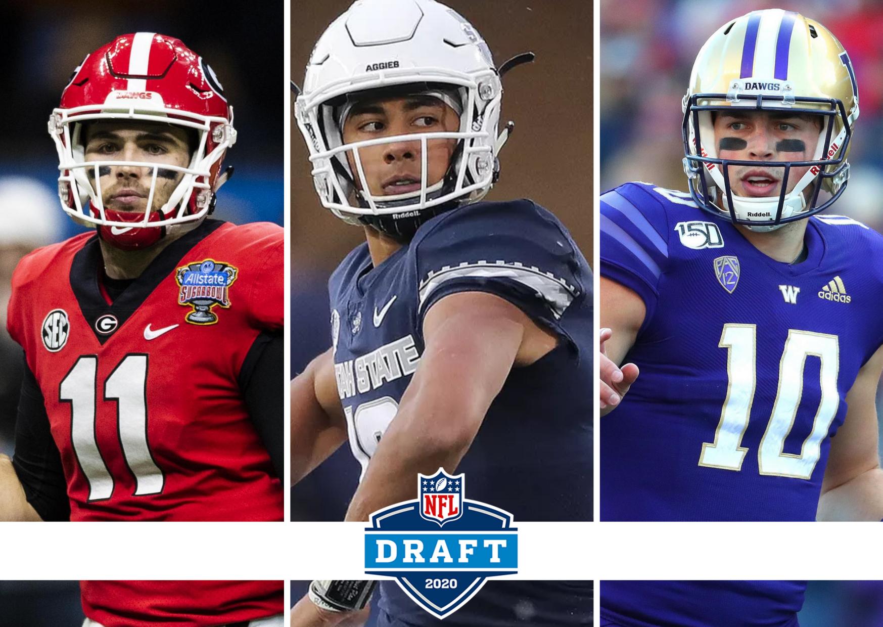 Draft 2020 quarterbacks love fromm eason