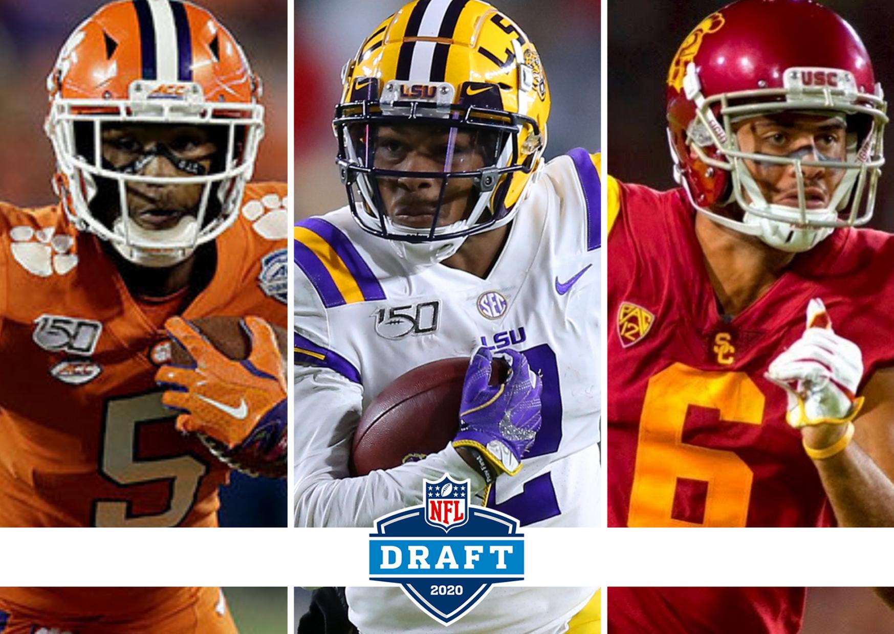 Draft 2020: Opções interessantes para os Patriots entre os WRs