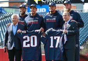 draft 2017 dos Patriots