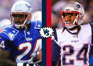 Camisa 24 Ty Law Stephon Gilmore