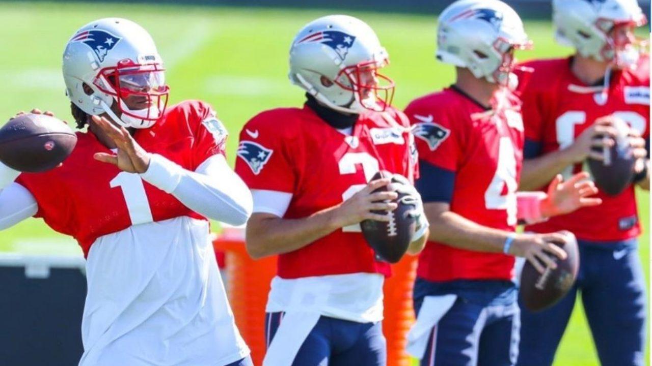 Primeiros treinos não indicam quem será o quarterback titular dos Patriots