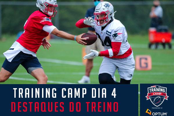 Training Camp dos Patriots 2020 Rex Burkhead