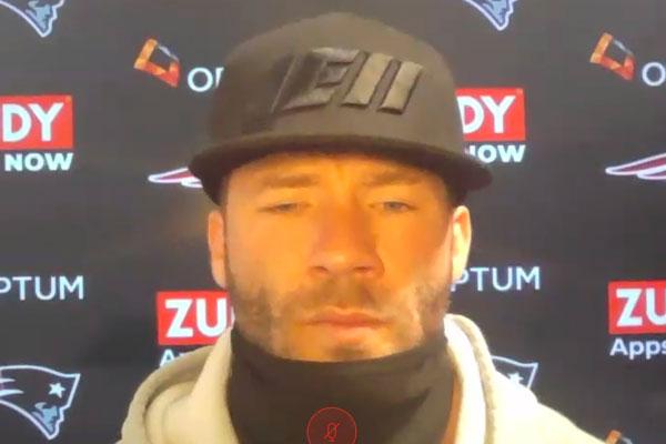 Julian Edelman New England Patriots entrevista