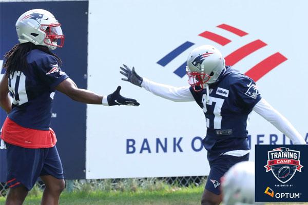 Kyle Dugger New England Patriots Training Camp