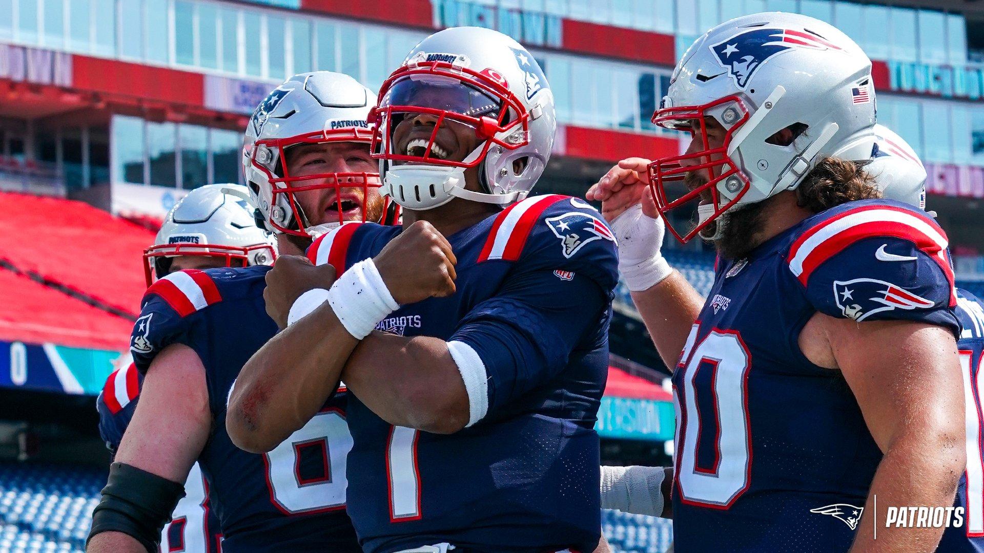 Tatidown Patriots – Semana 1: Patriots X Dolphins