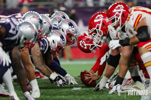Patriots x Chiefs