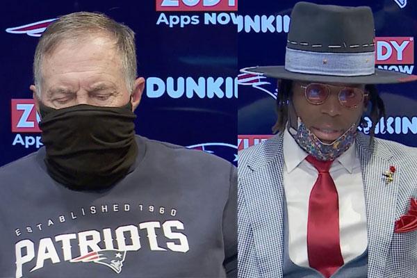 Belichick e jogadores dos Patriots falam após a derrota