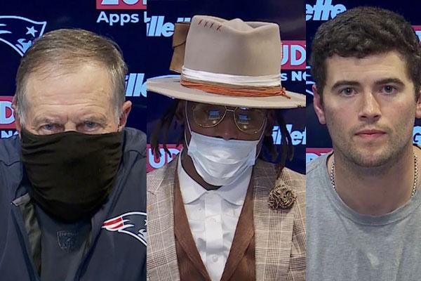 Belichick, Newton e Stidham falam após a derrota para San Francisco