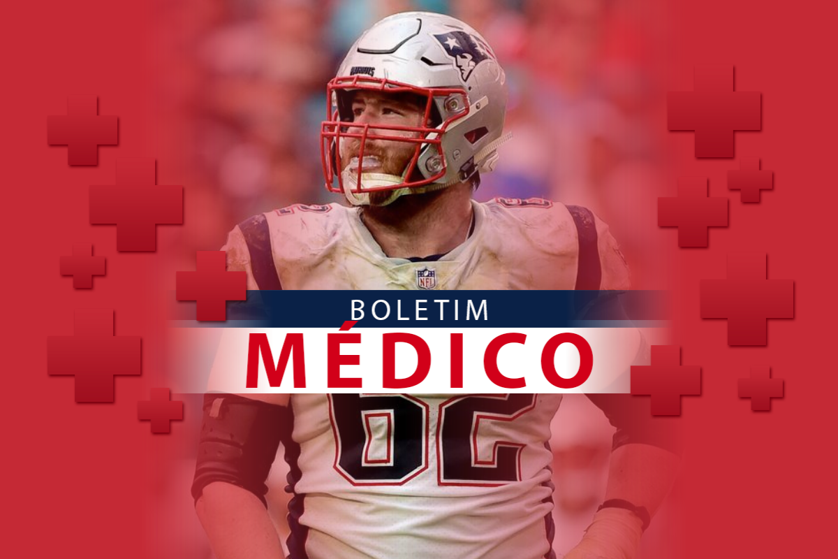 Boletim Médico Joe Thuney Semana 11