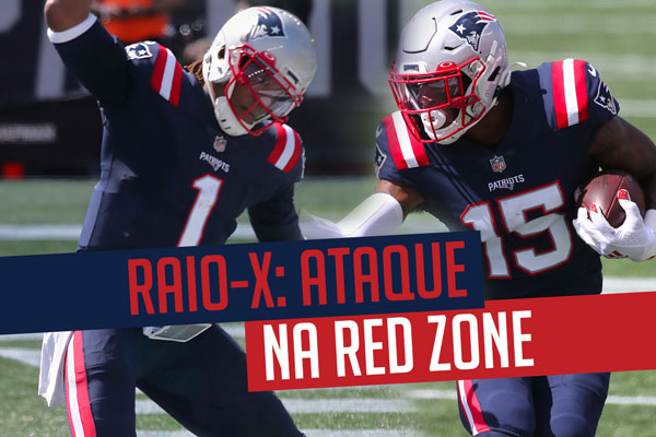 New England Patriots Red Zone Cam Newton NKeal Harry