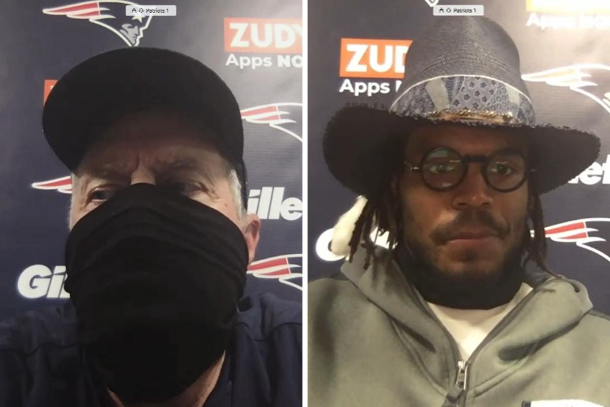 Belichick, Newton e Slater: as reações após a derrota para os Dolphins