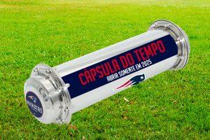 Capsula do Tempo New England Patriots Fa Clube Patriotas