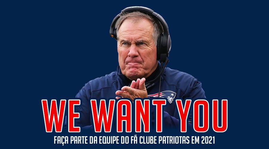 Faça parte da equipe Patriotas em 2021