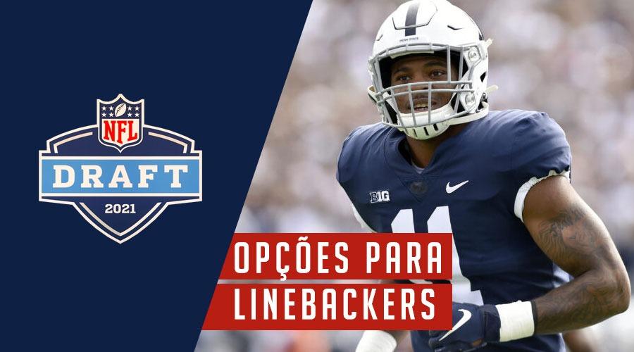 Draft 2021: Alvos para os Patriots entre os LBs