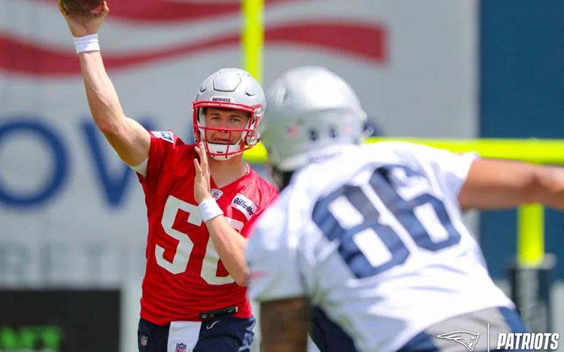 Mac Jones New England Patriots Quarterback