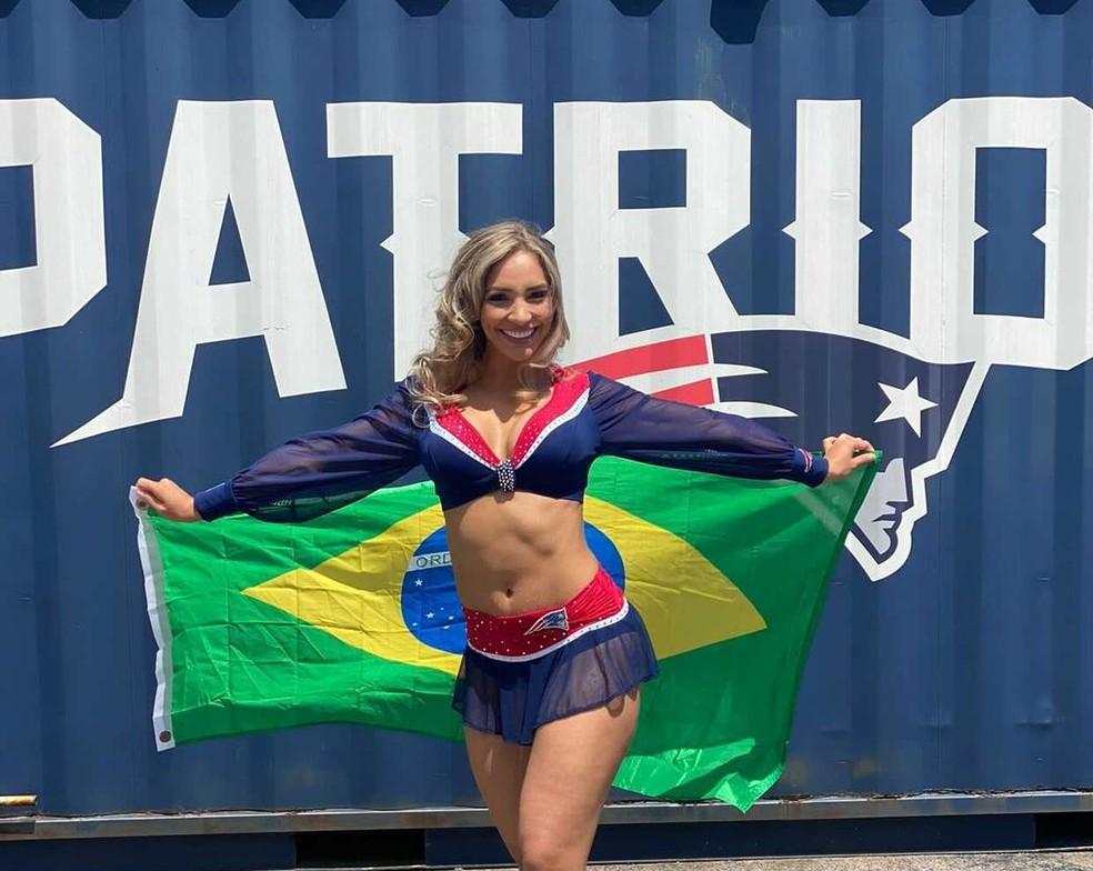 Conheça a brasileira nos Patriots