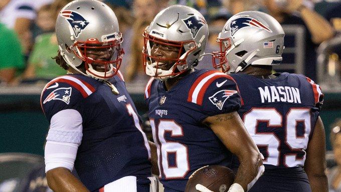 Patriots na pré-temporada
