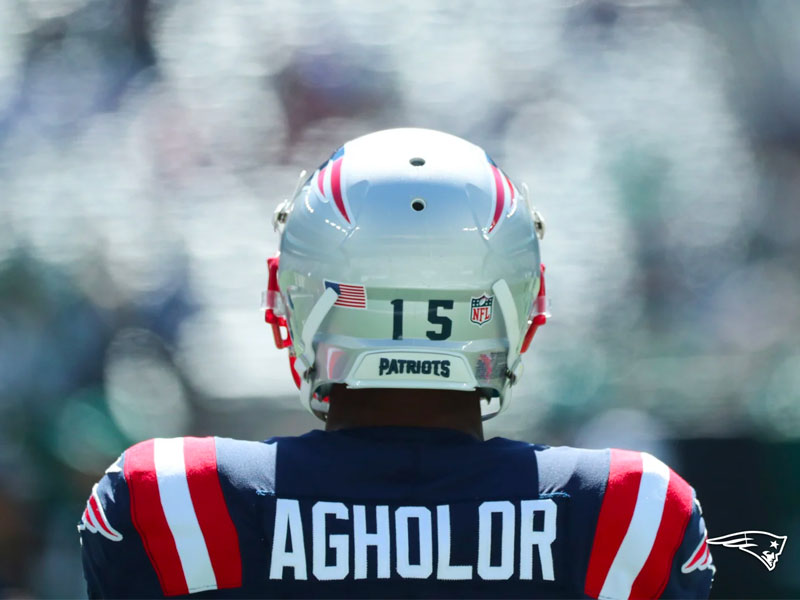 Nelson Agholor New England Patriots