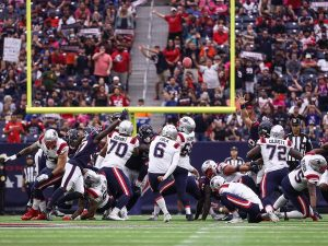 Nick Folk game winning Patriots x Texans
